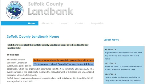 ny suffok county land bank